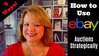 Download 5 Ways to Use eBay Auctions Strategically - eBay the SMART Way! Video