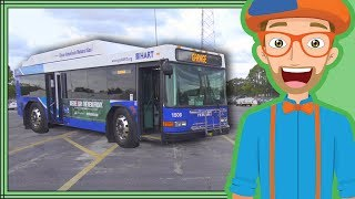 Download Bus Videos for Children by Blippi | Educational Videos for Kids Video