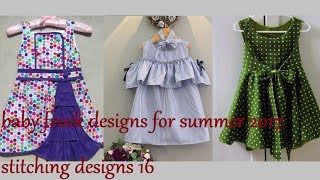 Download baby frock designs for summer 2017, stitching designs 16 Video