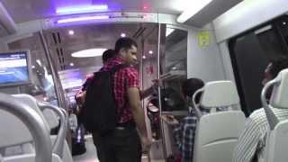 Download PAUL HODGE: 2013 SOLO AROUND WORLD IN 24 DAYS, DELHI AIRPORT METRO EXPRESS, Ch 56, SoloAroundWorld Video