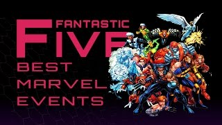 Download 5 Best Marvel Events - Fantastic Five Video