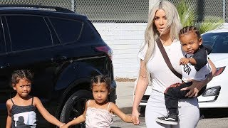 Download Kim Kardashian And Family Get Out For Some Ice Skating Video