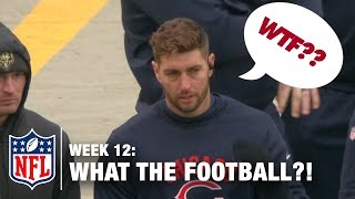 Download Top 5 Worst Moments (Week 12) | WTF: What The Football?! | NFL Now Video