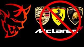 Download Why do SUPERCARS always lose to me? | Dodge Demon vs Porsche, Ferrari, Lamborghini, McLaren Video