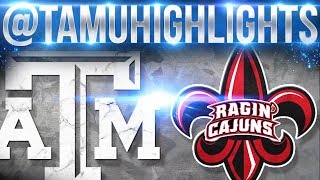 Download Texas A&M Highlights vs Louisiana Lafayette 09-16-2017 ᴴᴰ Video