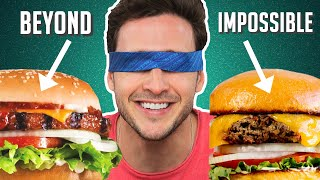 Download Doctor Reviews Meatless Burgers | Impossible, Beyond & More! Video