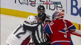 Download Iginla shows frustration with Emelin's big hit in 10-1 game Video