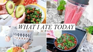 Download WHAT I ATE TODAY! Healthy & Easy | Annie Jaffrey Video