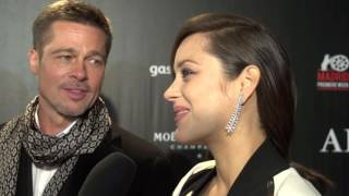 Download Brad Pitt Marion Cotillard Aliados Premiere Madrid 1 Video