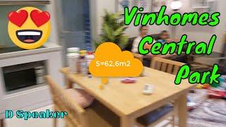 Download Căn hộ 2 phòng ngủ, Vinhomes central park | Landmark 3 | Landmark 81 Video