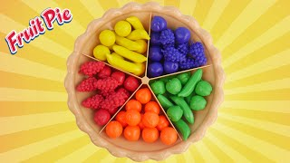 Download Super Sorting Pie Best Learning Video for Kids - Learn Colors Counting Sorting Fruits for Preschool Video