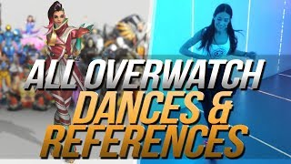 Download Overwatch Dances | Music & Reference | Side by Side | All Heroes Video