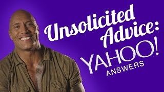 Download Unsolicited Advice: Yahoo Answers with The Rock - Seven Bucks November Q&A Video