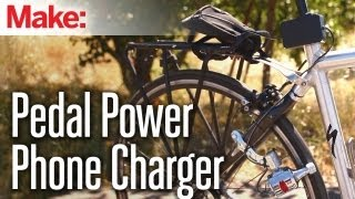 Download Weekend Projects - Pedal Power Phone Charger Video