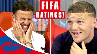 "Download Walker & Trippier Guess their FIFA 19 Stats! | ""Are you having a laugh?!"" 