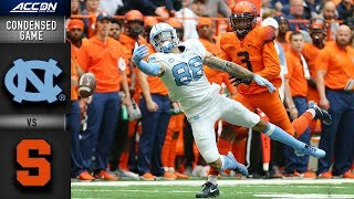 Download North Carolina vs. Syracuse Condensed Game | 2018 ACC Football Video