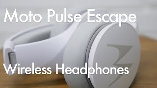 Download Motorola Pulse Escape Budget Wireless Bluetooth Headphone Video