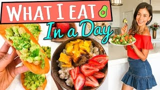 Download WHAT I EAT IN A DAY VEGAN   3 INGREDIENT MEALS Video