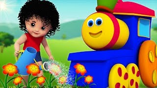 Download Mary Mary Quite Contrary | Bob The Train | Kindergarten Nursery Rhymes For Kids Video