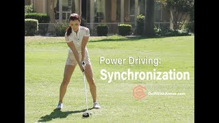 Download Power Driver Synchronization | Golf with Aimee Video