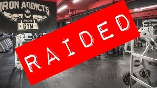 Download Anabolics Bust at Iron Addicts Gym! Iron Rage on RXMuscle Video