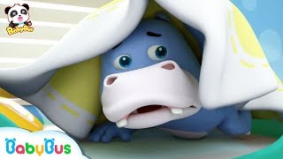 Download Baby Panda Helps Hank Prevent A Cold | Sick Song | Good Habits Song | Kids Songs | BabyBus Video