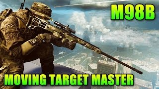Download Sniper Sunday: M98B Best Rifle For Moving Targets (Battlefield 4 Gameplay/Commentary) Video