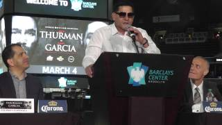 Download Epic Angel With The Fireworks - Keith Thurman vs Danny Garcia Press Conference - esnews boxing Video