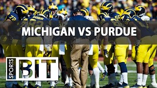 Download Sports BIT | Michigan Wolverines vs Purdue Boilermakers | Week 4 Betting Preview Video