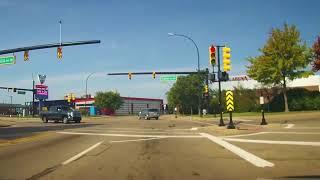 Download Driving around Battle Creek, Michigan Video