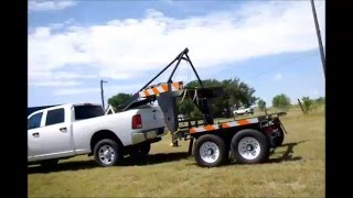 Download Pickup Truck Container Hauler Unload Video