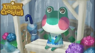 Download A Rainy Day in Animal Crossing: City Folk Video