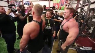 Download 225 Bench Competition Bodybuilders Vs. Football Players Video