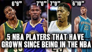 Download 5 NBA Players That Grew While In The NBA Video