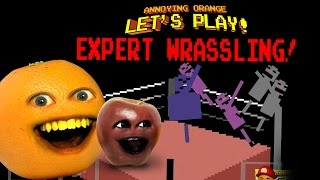Download Annoying Orange Let's Play EXPERT WRASSLING! w/ Midget Apple Video