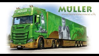 Download Scania S580 ″Project Cassius Clay 2017″ Müller Ermensee Video