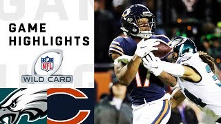 Download Eagles vs. Bears Wild Card Round Highlights | NFL 2018 Playoffs Video