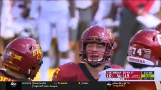 Download 2018 - Oklahoma Sooners at Iowa State Cyclones in 40 Minutes Video