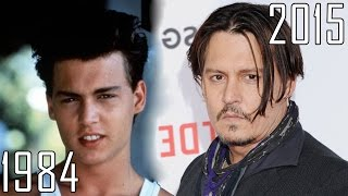 Download Johnny Depp (1984-2015) all movies list from 1984! How much has changed? Before and Now! Video