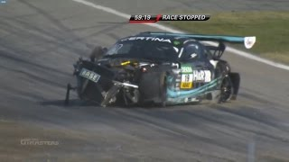 Download ADAC GT Masters 2015. Hockenheimring. Start crashes Video
