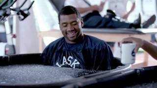 Download Alaska Airlines Training Camp Bloopers with Russell Wilson Video