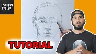 Download Como Dibujar el rostro humano TIEMPO REAL Video