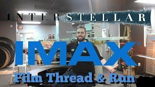Download 70mm IMAX Interstellar Film Thread & Run New Rochelle IMAX Theater Video