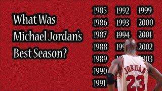 Download What Was Michael Jordan's Best Season? Video