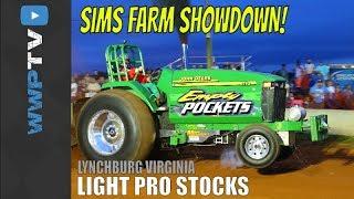 Download 7800 Light Pro Stock Tractors Pulling at Lynchburg June 3 2016 Video