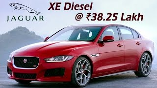 Download Jaguar XE Diesel 2017 Launched In India @ ₹38.25 | Price, Performance, Specification Video