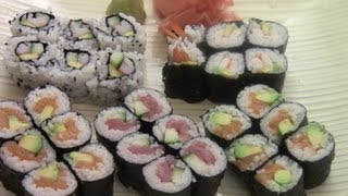 Download How To Make Simple And Delicious Sushi(1/2) Video