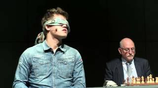 Download Magnus Carlsen blindfold simul Vienna October 6th 2015 Video