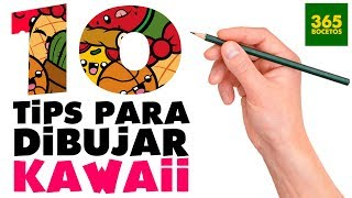 Download 1O TRUCOS PARA APRENDER A DIBUJAR KAWAII - 10 Life Hacks para dibujantes Video