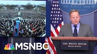 Download Fact Checking White House Press Secretary Sean Spicer's Inauguration Numbers | MSNBC Video